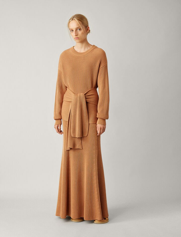 Joseph, Rd Nk Ls-Cote Anglaise, in DUSTY ROSE