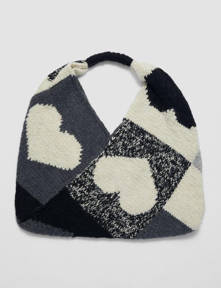 Joseph, Bag-Waste Yarn Project, in Grey Combo