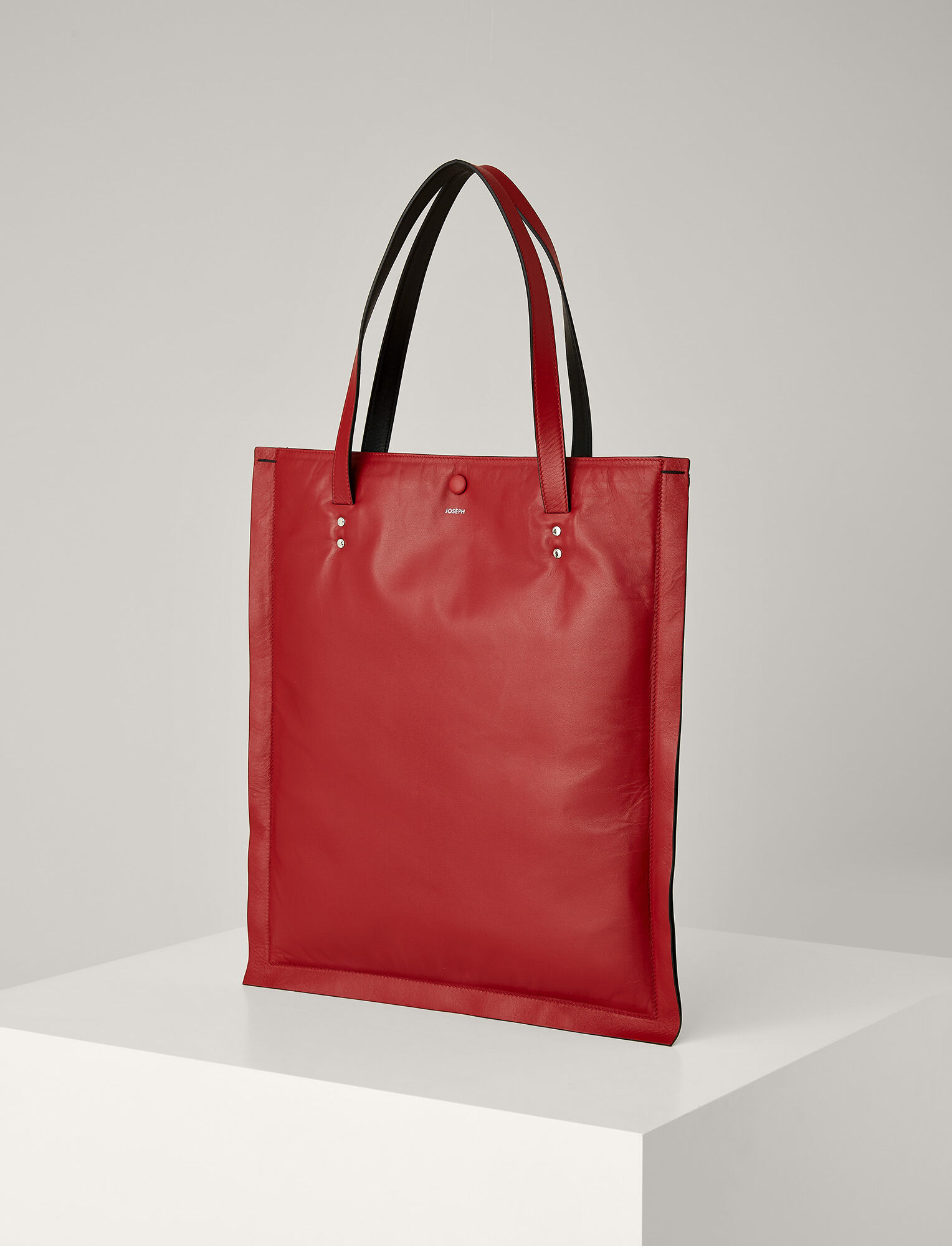 Joseph, Marcel Nappa Leather Bag, in RED