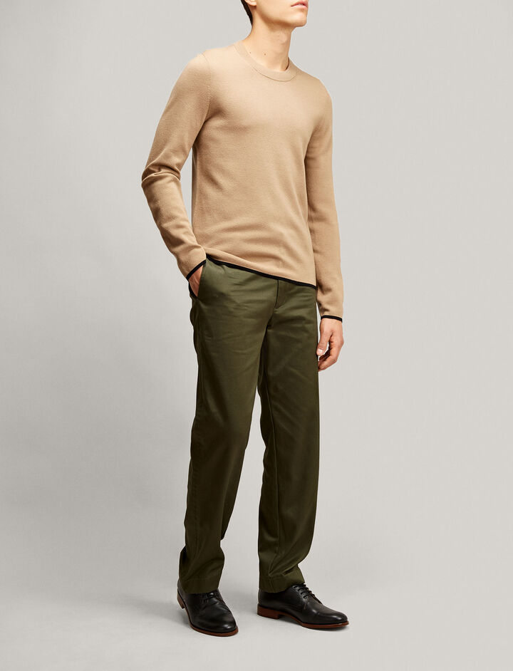 Joseph, Fine Milano Knit, in CAMEL