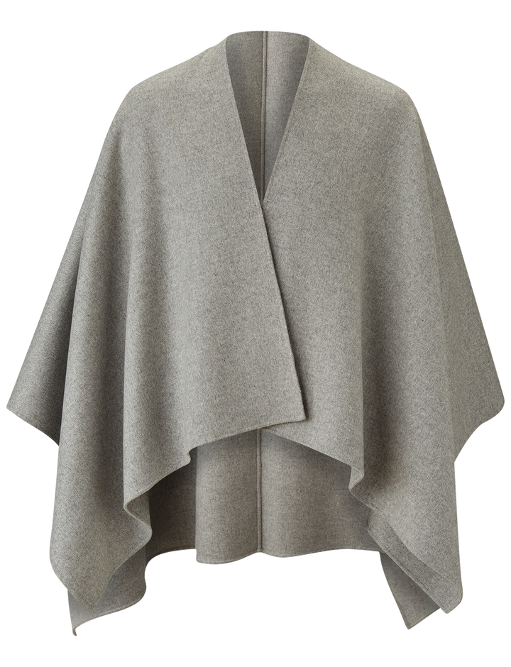Joseph, Quadro Double Face Cashmere Coat, in GREY