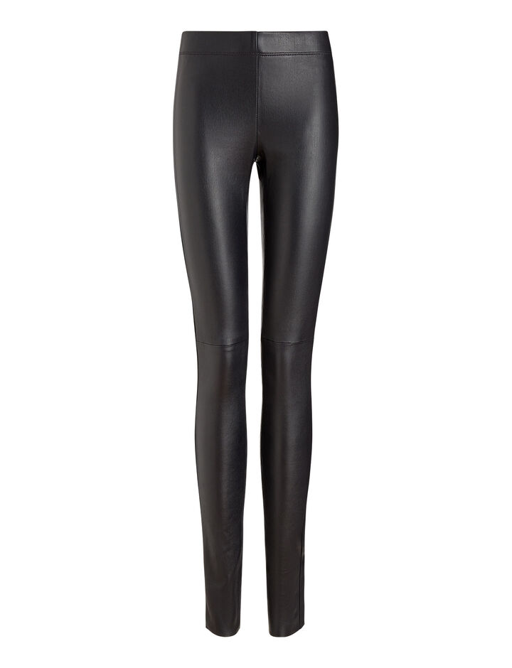Joseph, Stretch Leather Legging, in NAVY