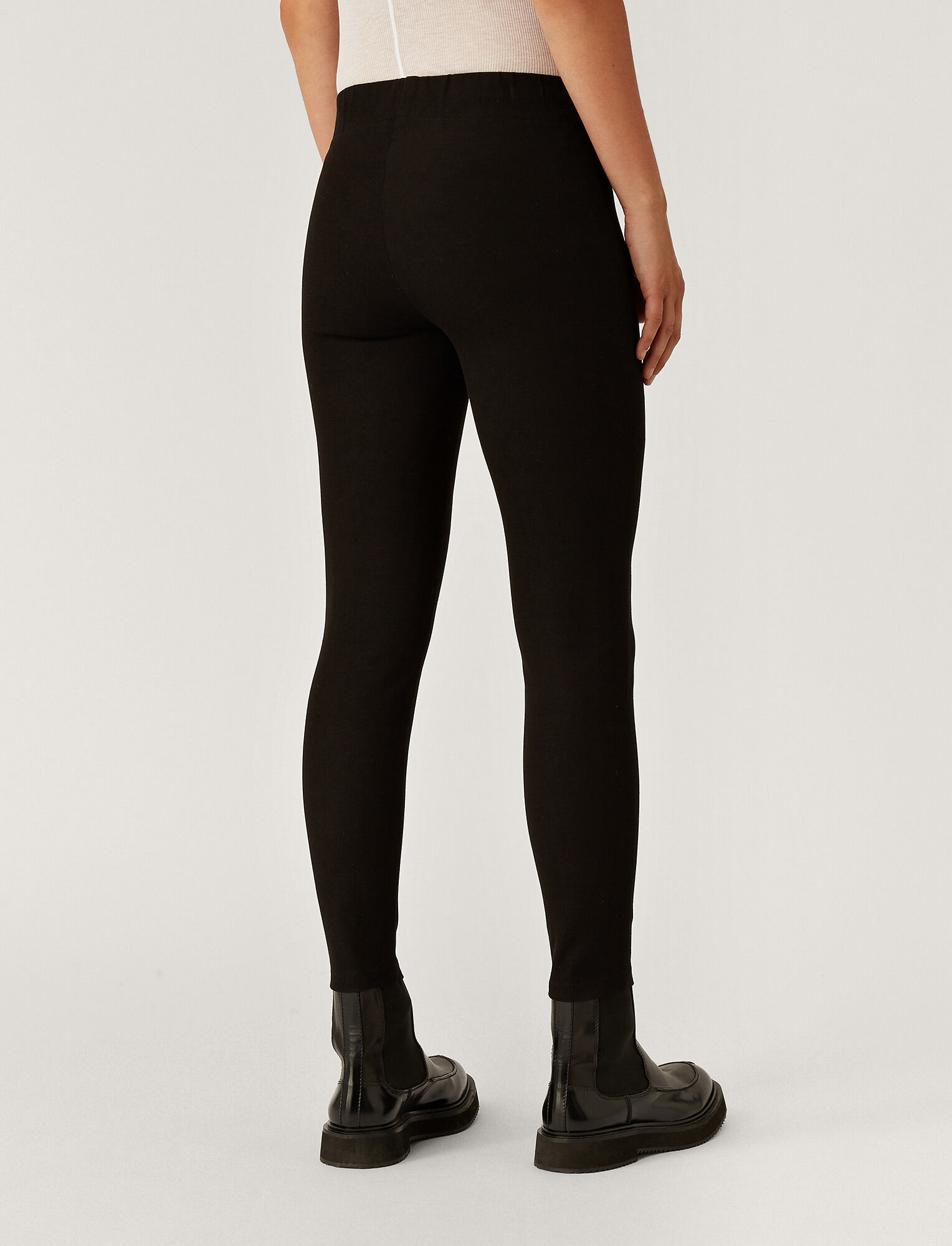 Joseph, Pantalon Nitro en gabardine stretch, in BLACK