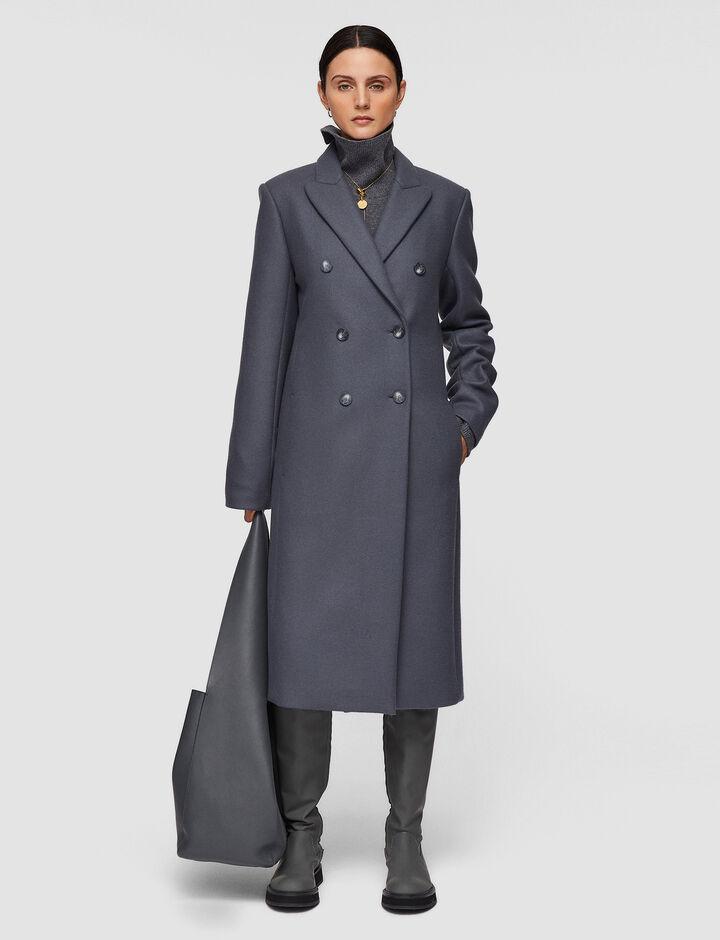 Joseph, Classic Coating Camia Coat, in Shadow