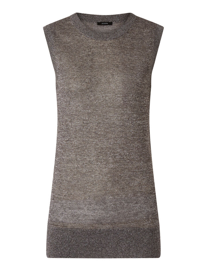 Joseph, Tank-Lurex, in ANTHRACITE