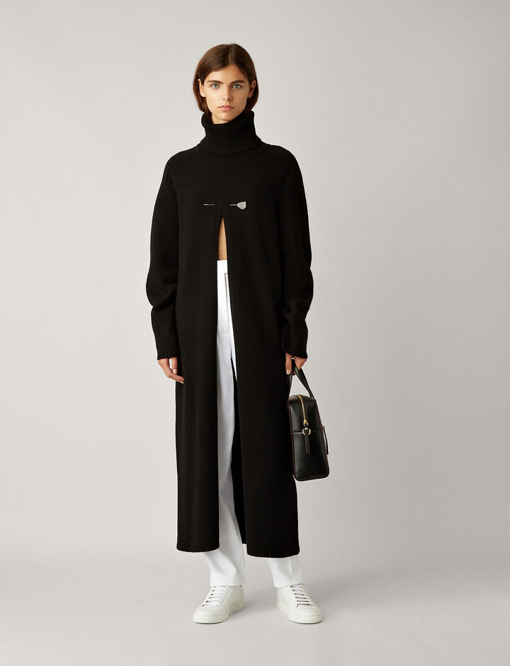 Joseph, Vivien Oversize Knit, in BLACK