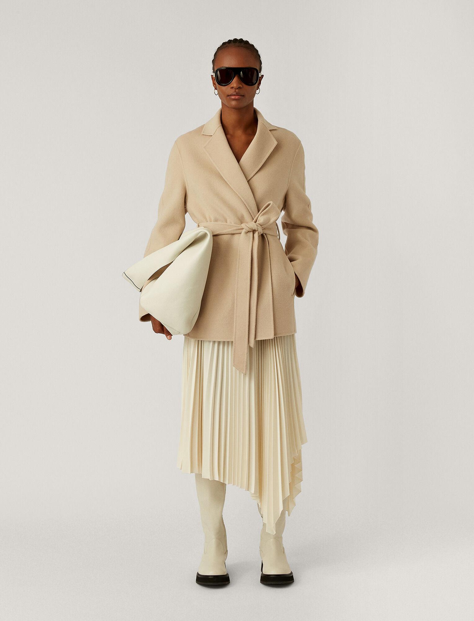 Joseph, Double Face Cashmere Cenda Coat, in CHAMPAGNE