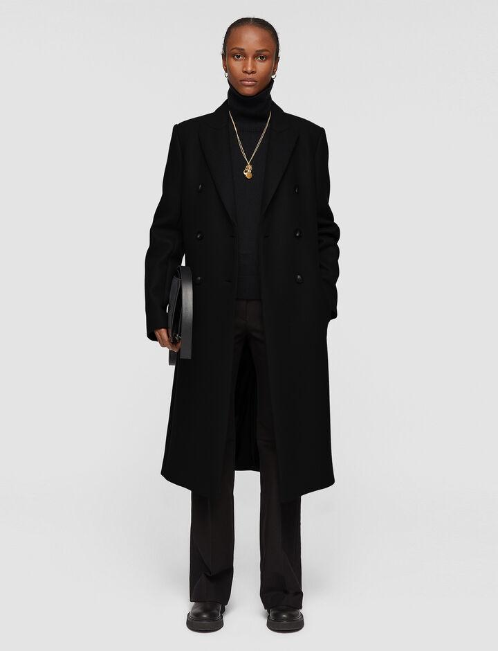 Joseph, Classic Coating Camia Coat, in Black