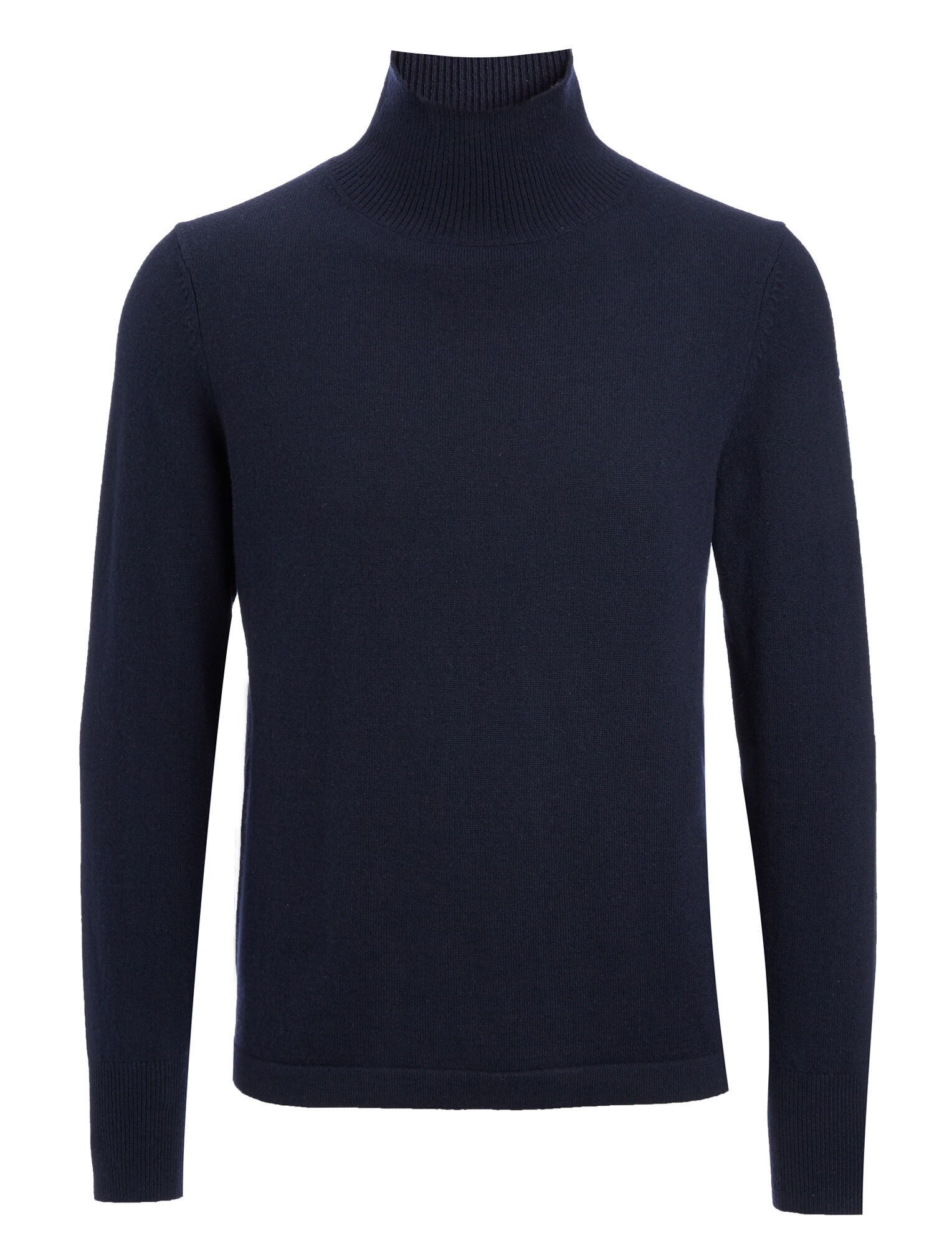 Joseph, Mongolian Cashmere Roll Neck Sweater, in NAVY