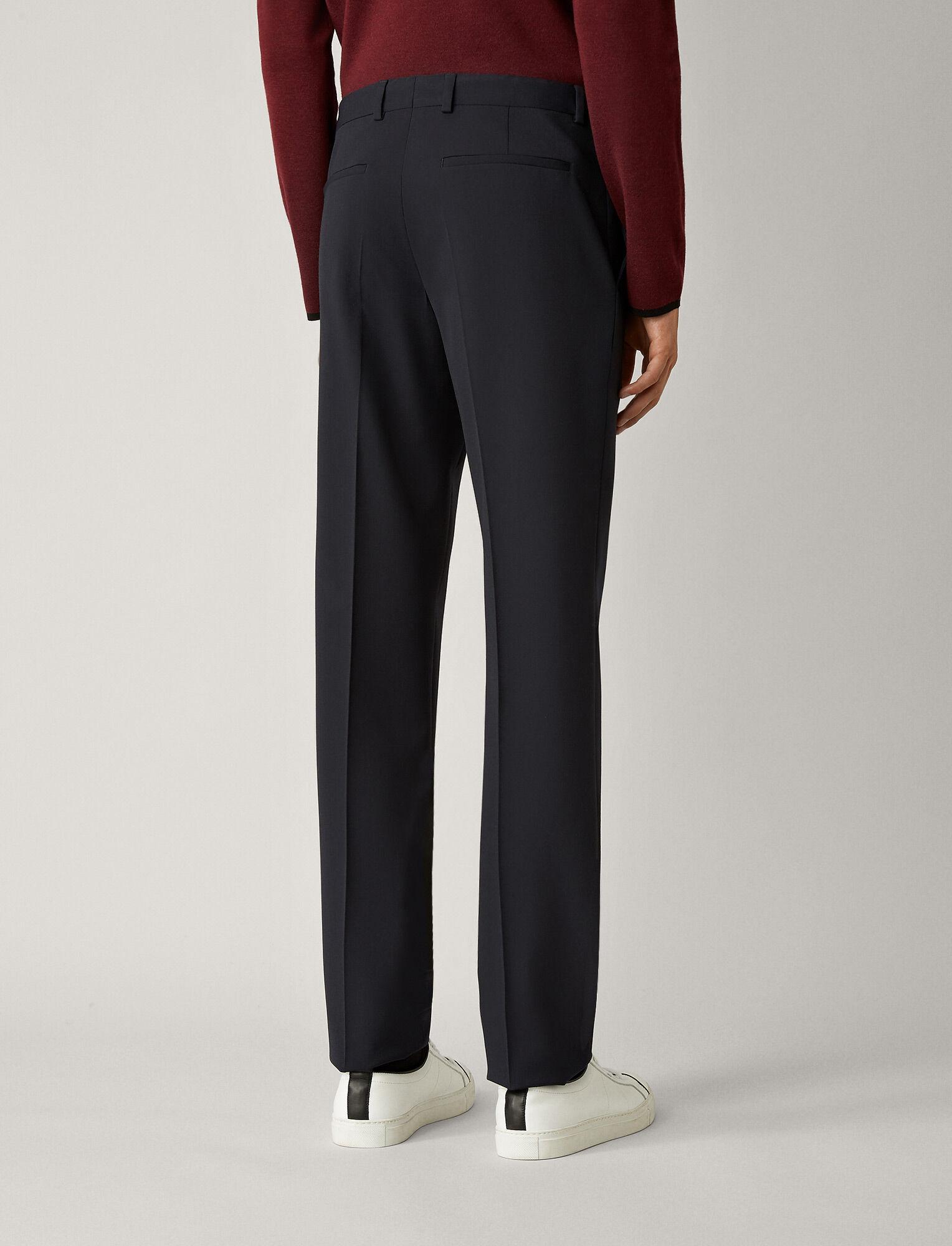 Joseph, Jack Techno Wool Stretch Trousers, in NAVY