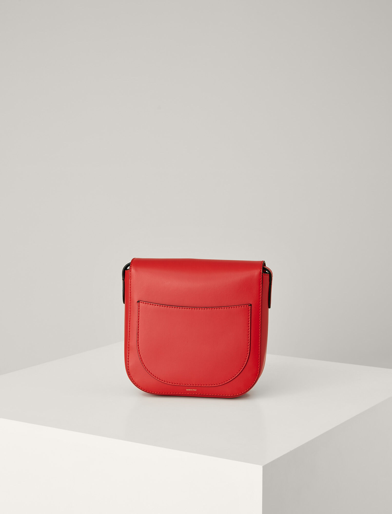 Joseph, Leather Knight 25 Bag, in RED