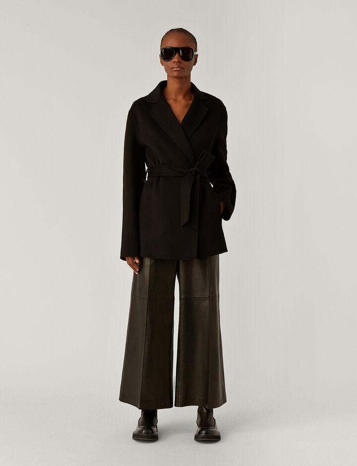 Joseph, Cenda Dbl Face Cashmere Coats, in Black