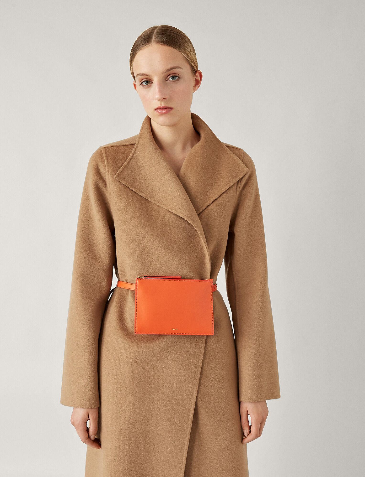 Joseph, Montmartre Leather Bag, in CARNELIAN