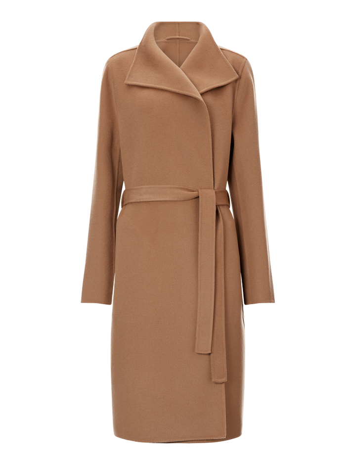Joseph, Lima Double Face Cashmere Coat, in CAMEL