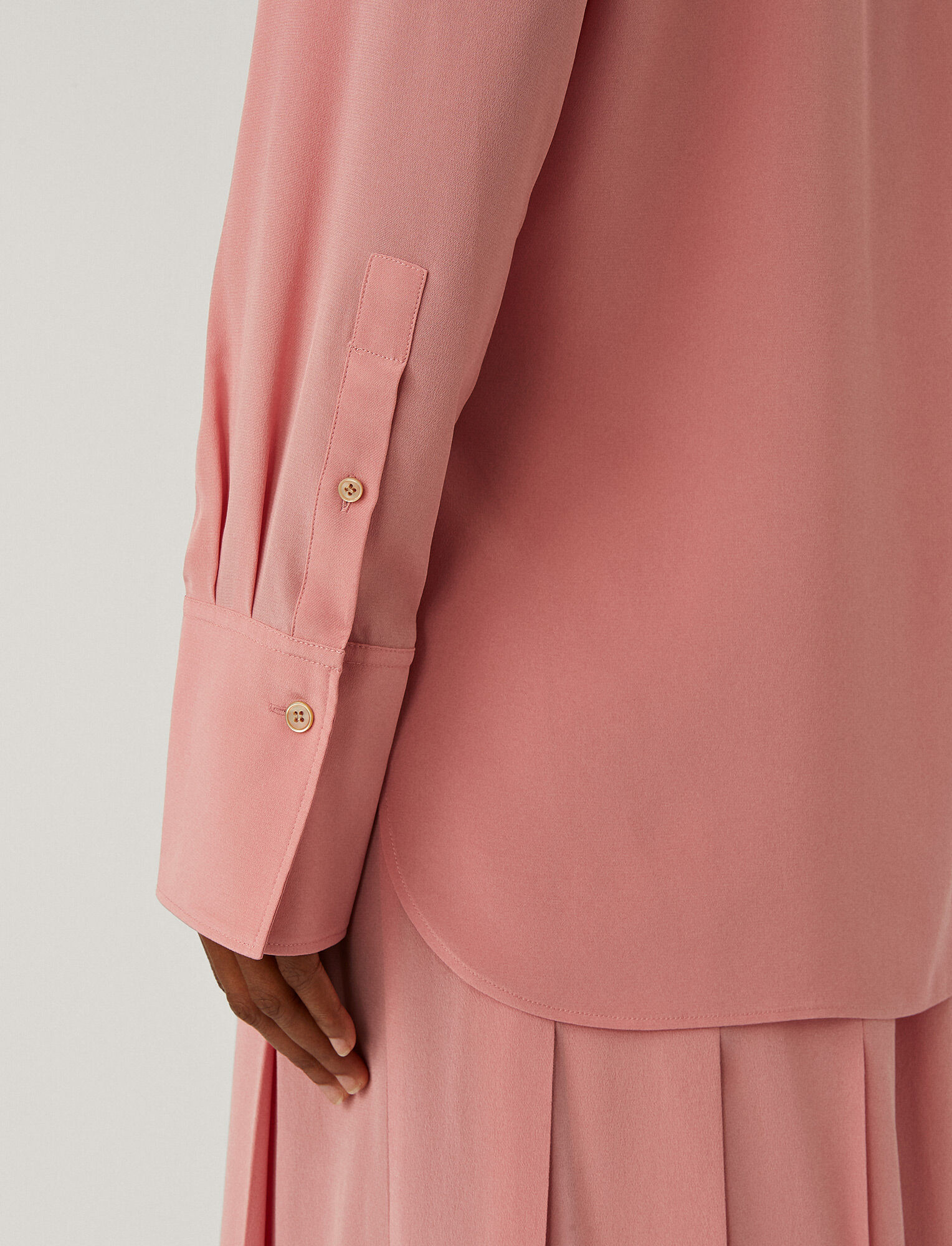 Joseph, Joe Crepe De Chine Blouse, in Rose