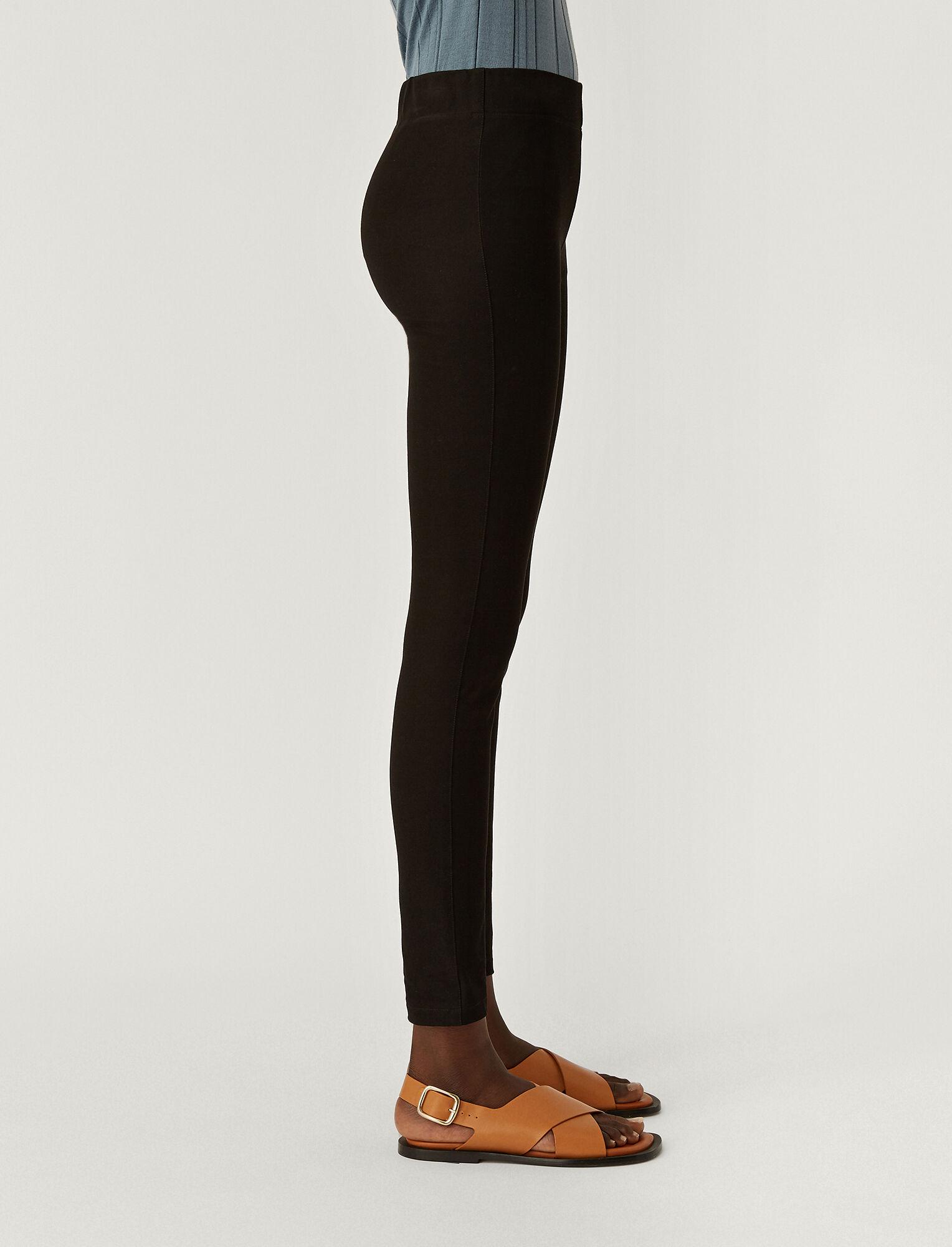 Joseph, Gabardine Stretch Legging, in BLACK