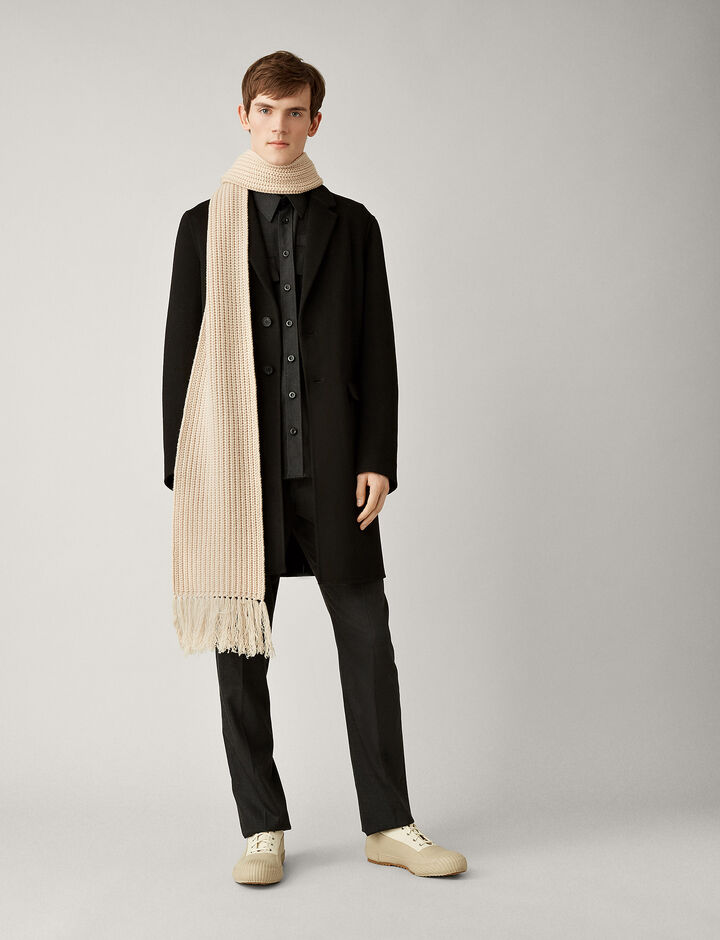 Joseph, Armand Double Face Cashmere Coat, in BLACK