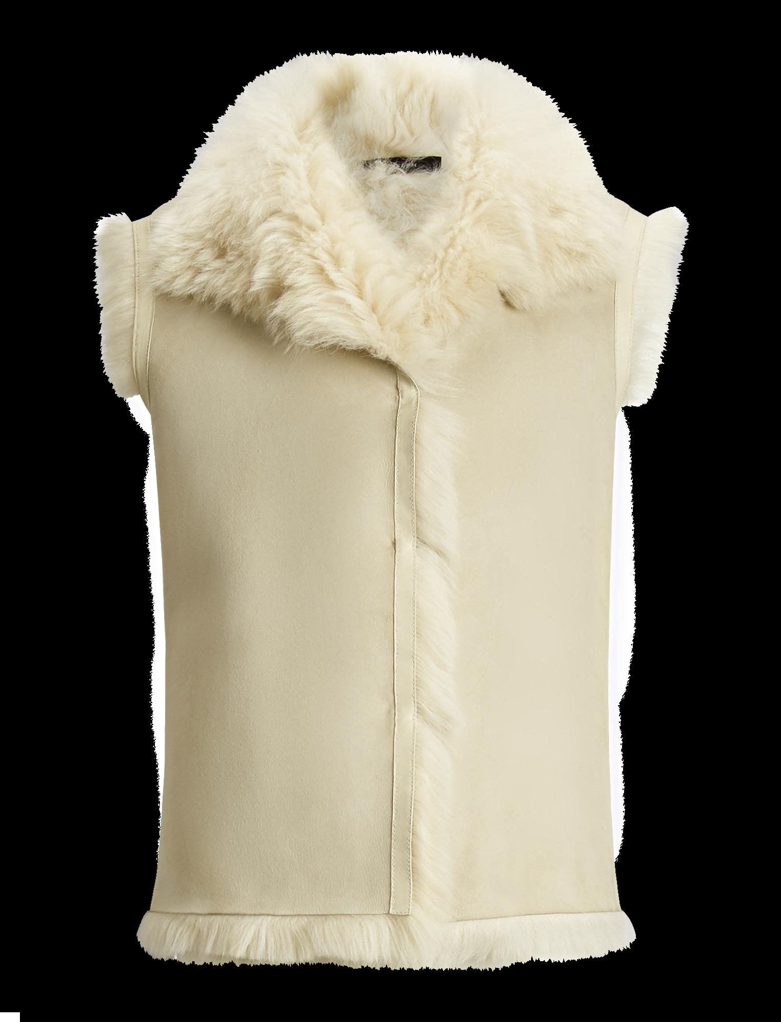 Joseph, Lacy Soft Toscana Sheepskin, in WHITE