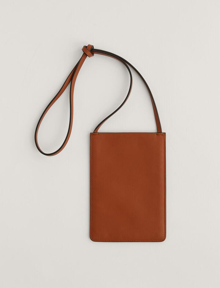 Joseph, Pocket Bag, in Rust