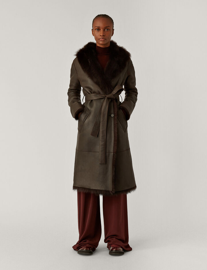 Joseph, Cree New Toscana Coats, in Chocolate