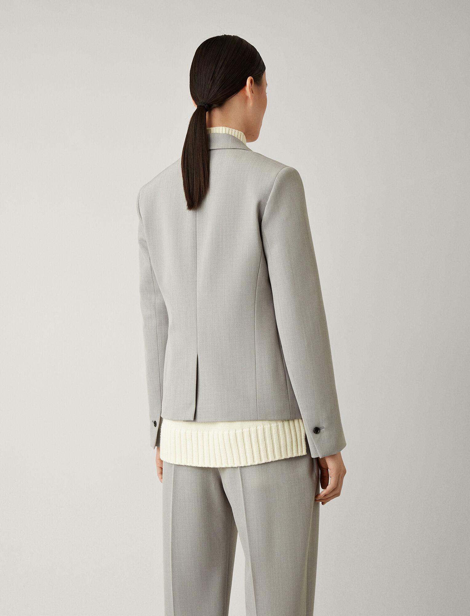 Joseph, Imma Comfort Wool Jacket, in GREY