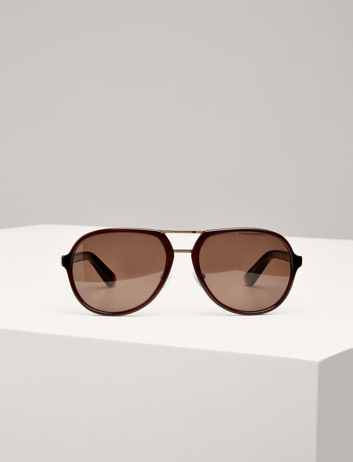 Joseph, Duke Sunglasses, in DARK BROWN