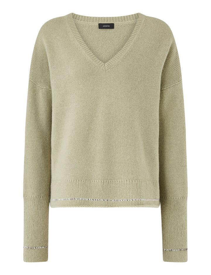 Joseph, V Nk Ls-Open Cashmere, in SAGE