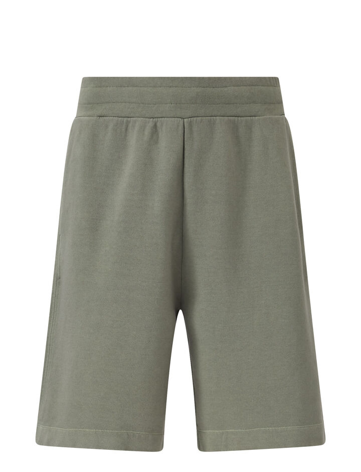 Joseph, Short-Garment Dye Molleton, in KHAKI