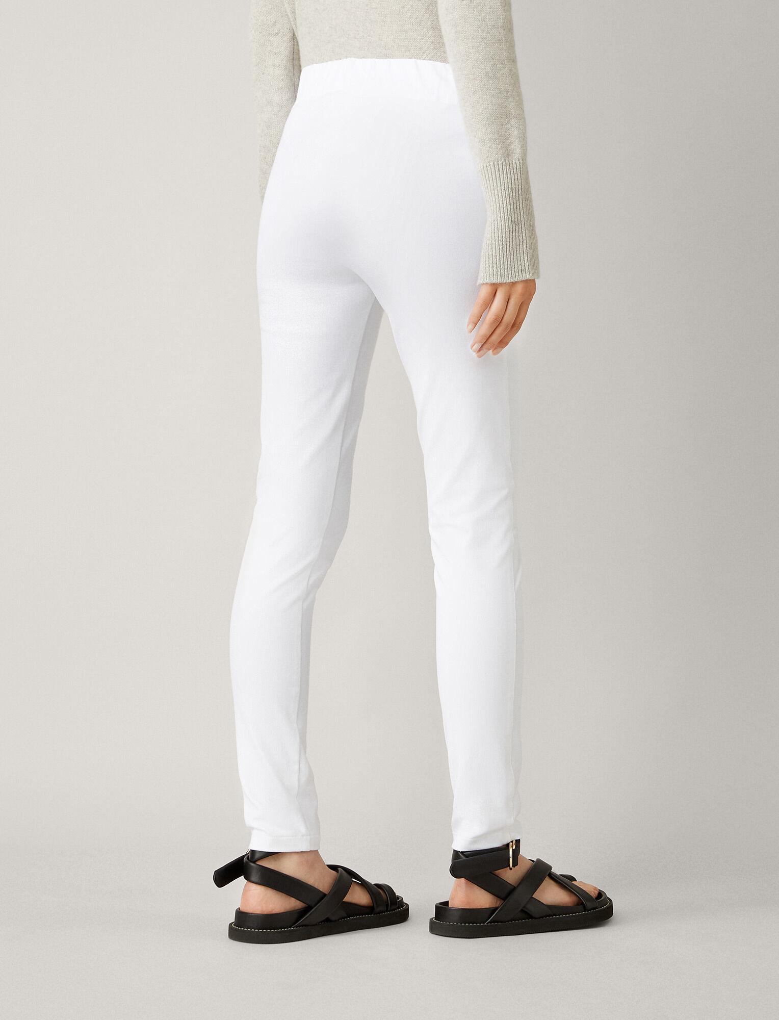 Joseph, Gabardine Stretch Legging, in WHITE