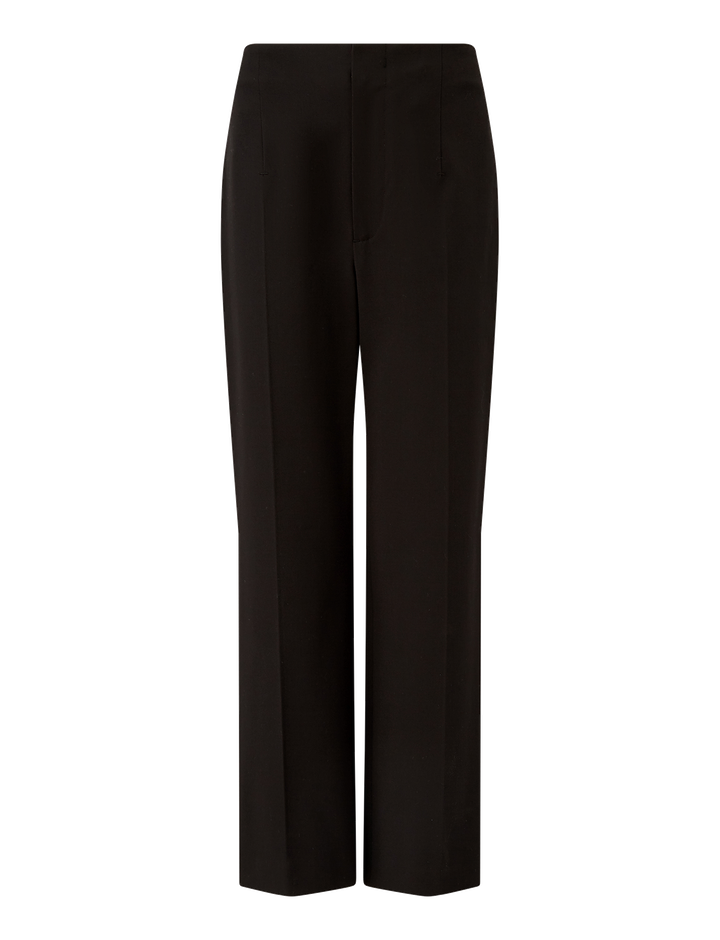 Joseph, Adabi Cotton Bi-Stretch Trousers, in BLACK
