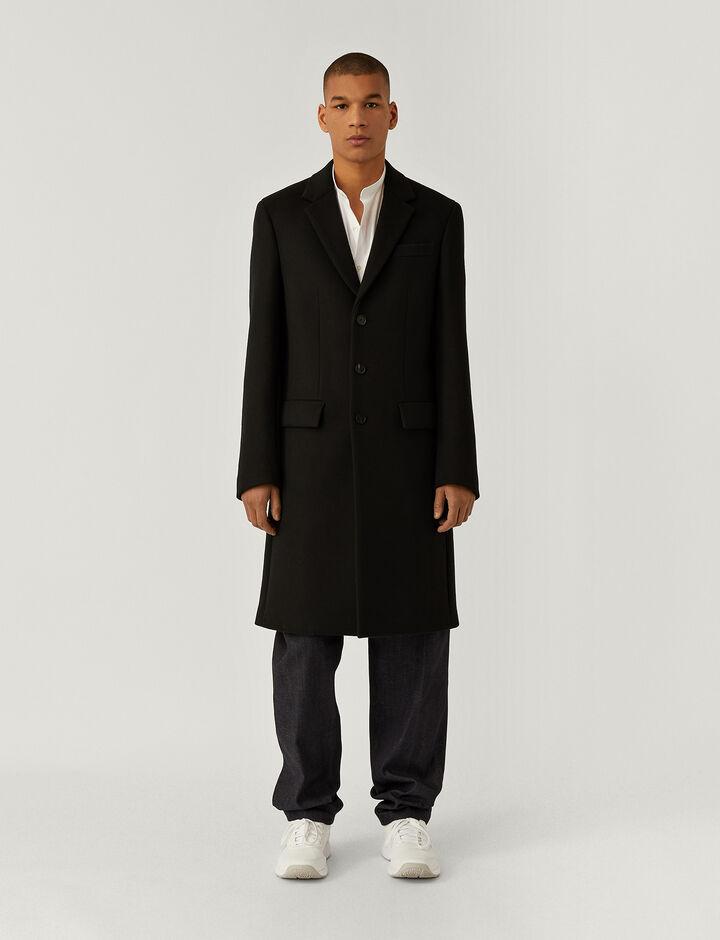 Joseph, London-Double Wool, in BLACK