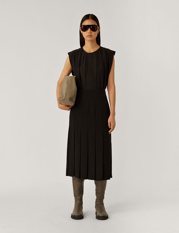 Joseph, Saria Dresses, in Black