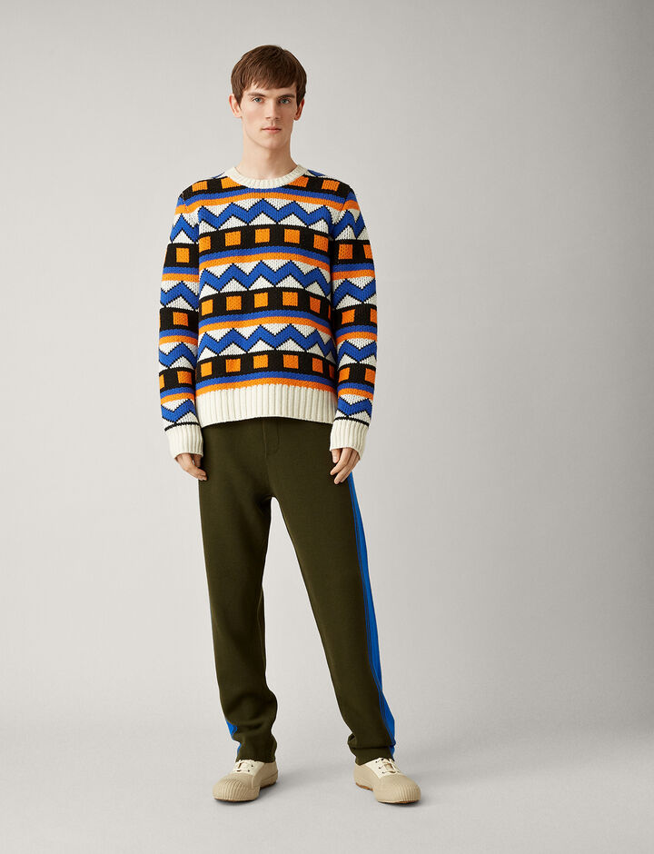 Joseph, Sportwear Milano Knit Jogger, in MILITARY
