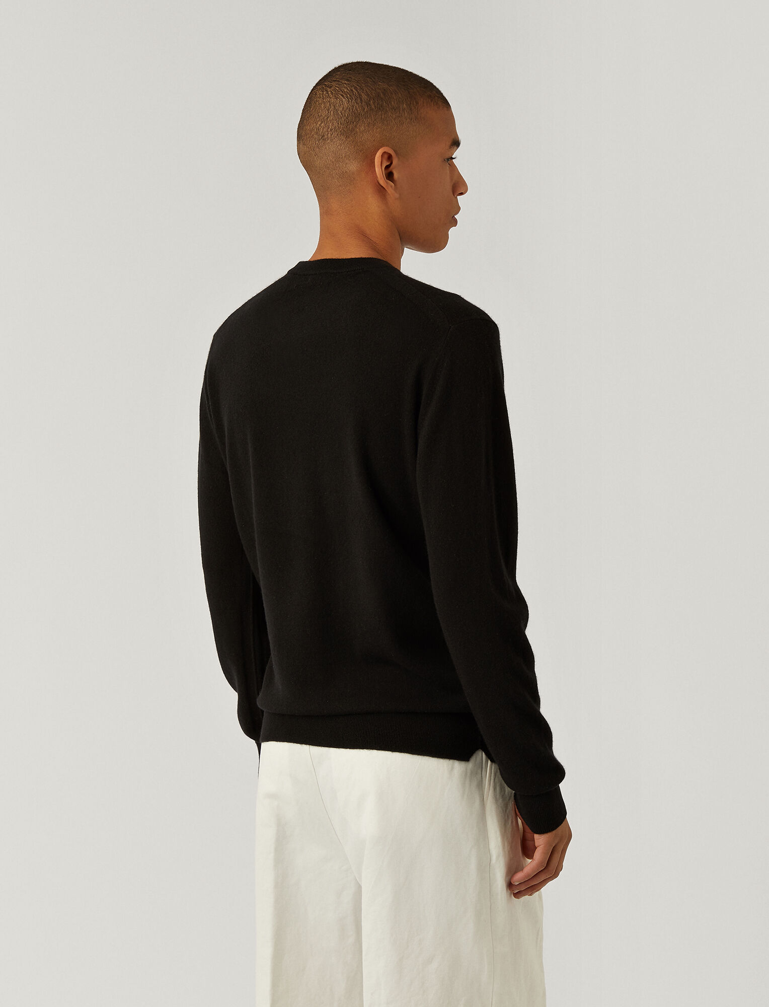 Joseph, Pure Cashmere Jumper, in BLACK