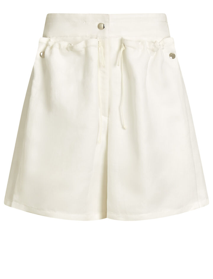 Joseph, Pete Fluid Ramie Shorts, in WHITE