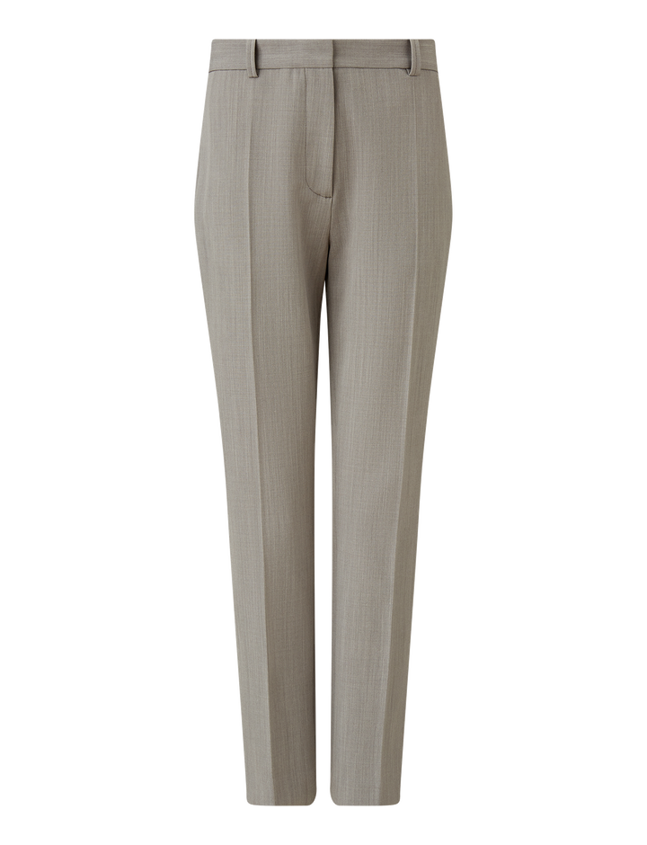 Joseph, Zoom Comfort Wool Trousers, in GREY