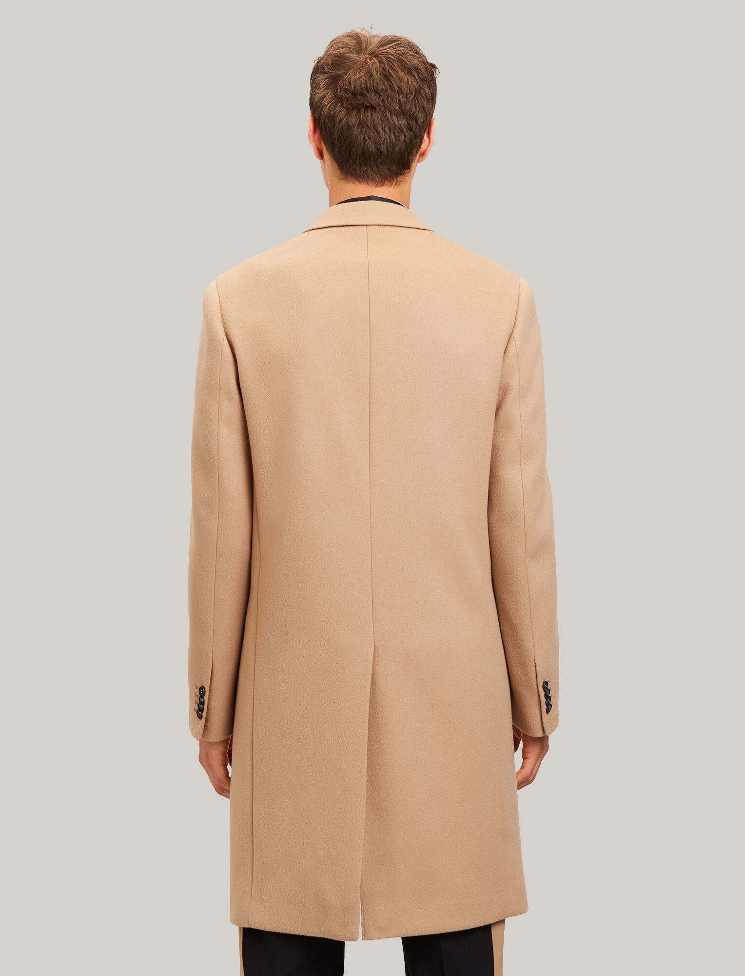 Joseph, London Double Wool Coat, in CAMEL