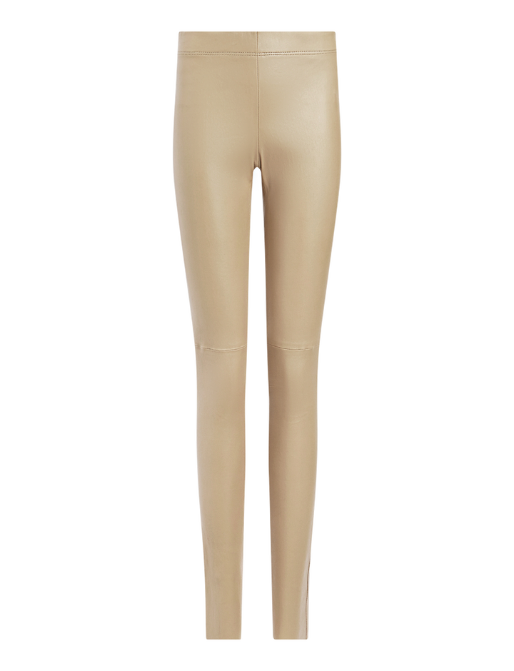 Joseph, Stretch Leather Legging, in COFFEE