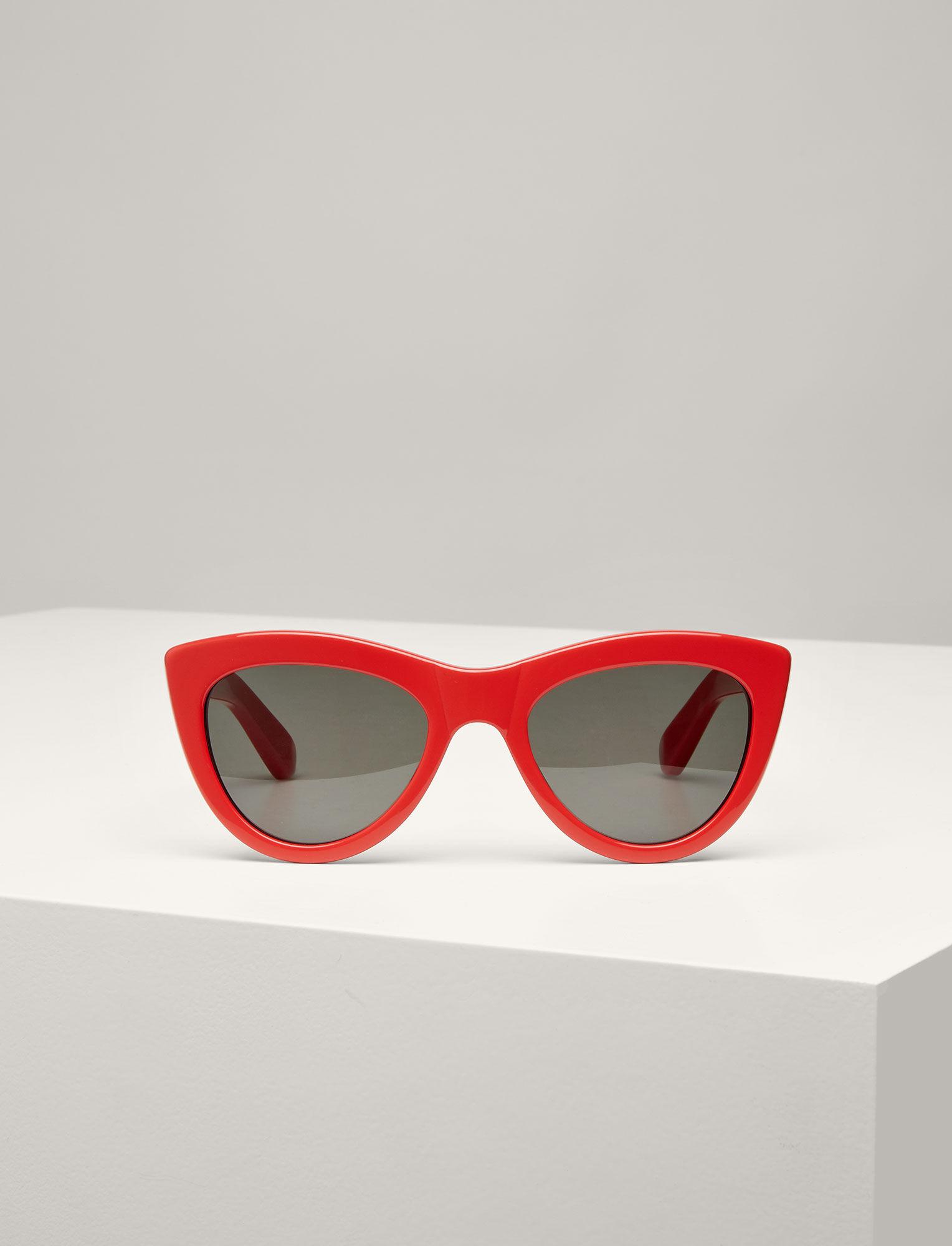 Joseph, Montaigne Sunglasses, in TOMATO