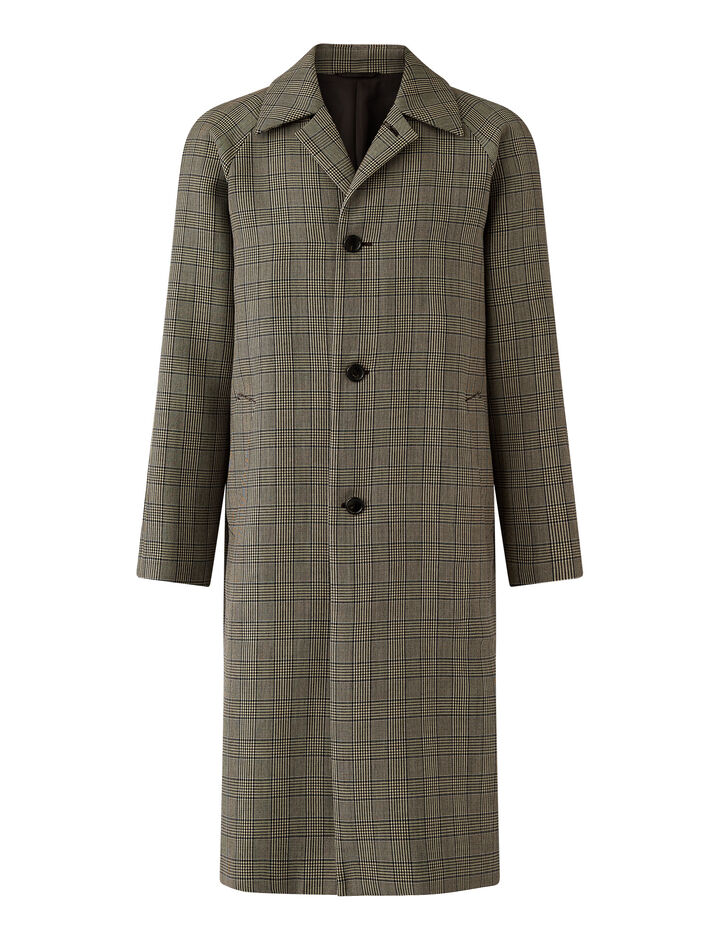 Joseph, Worsted Double Cloth Coat Coats, in Beige