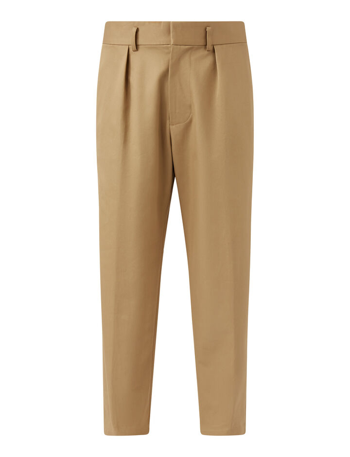 Joseph, Finx Chino Officer Trousers, in BEIGE