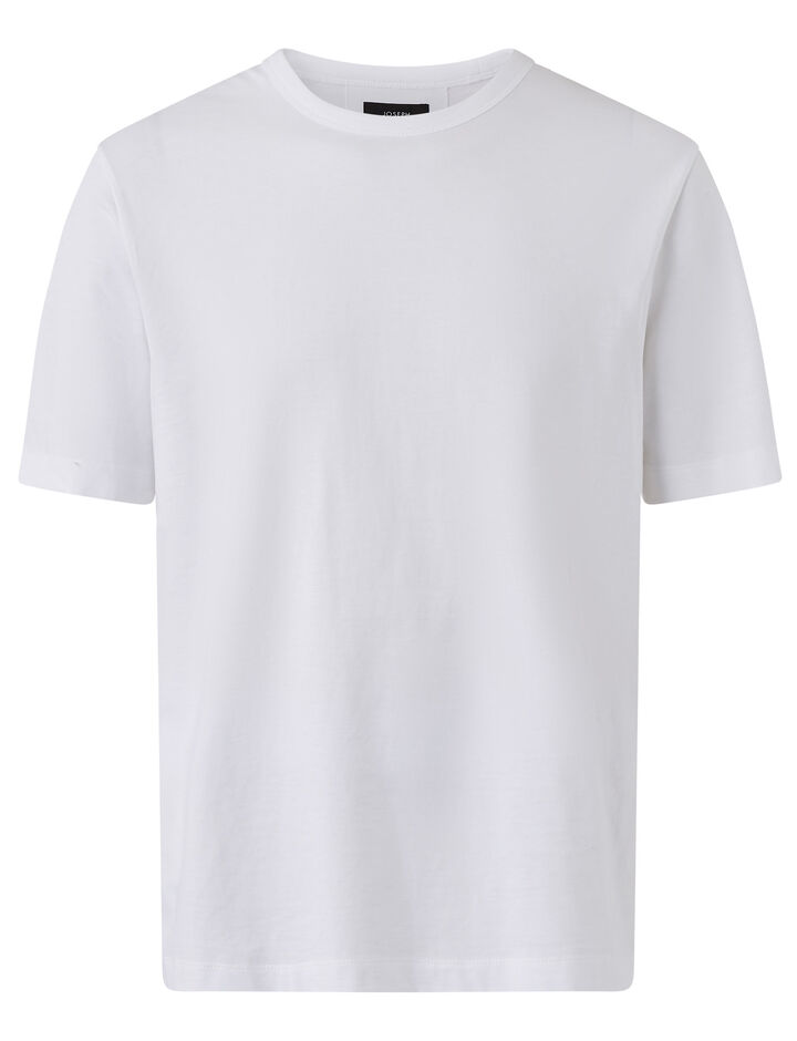 Joseph, Crew Nk Ss-Perfect Tee, in WHITE