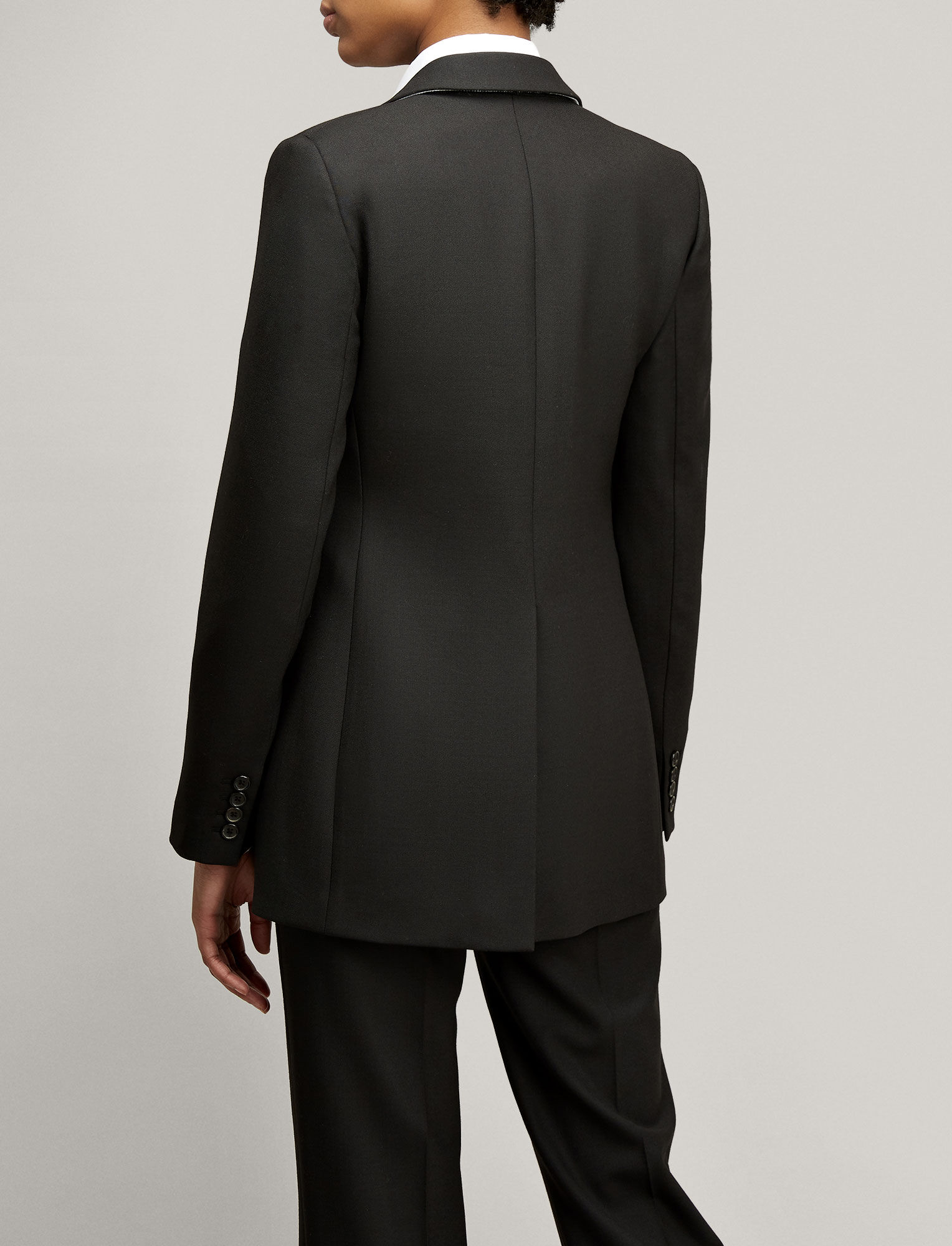 Joseph, Comfort Wool Laurent Jacket, in Black