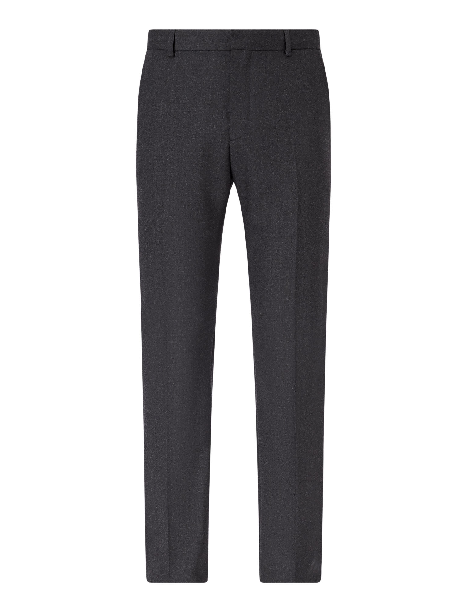 Joseph, Pantalon Jack en flanelle stretch, in CHARCOAL