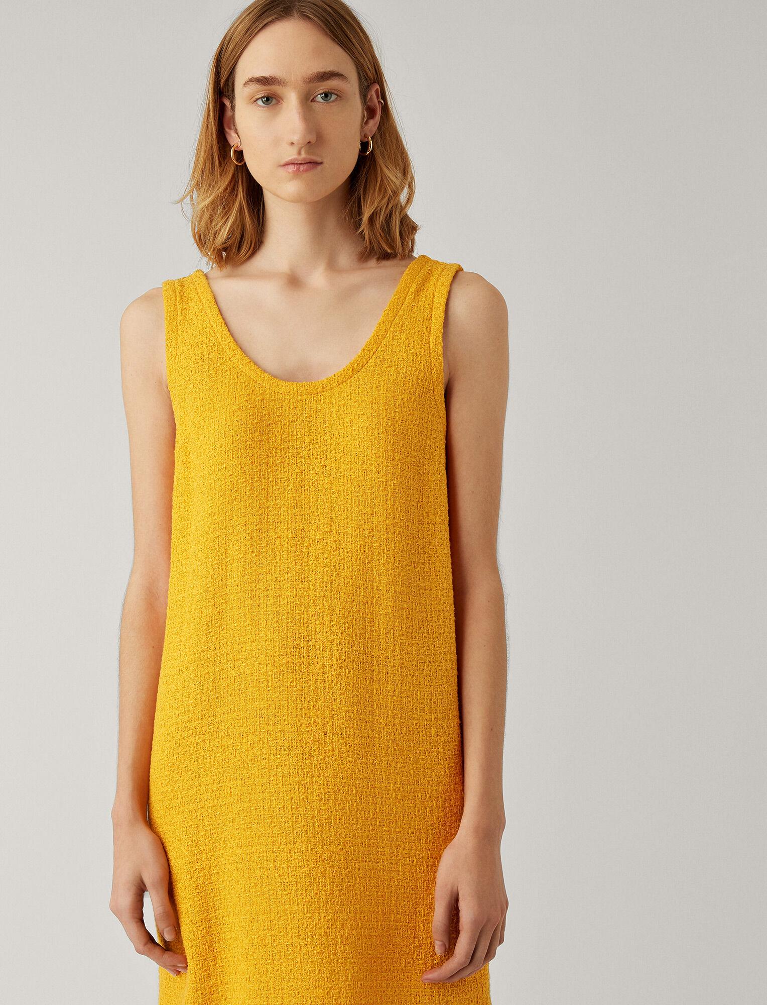 Joseph, Dria Tweed Dress, in POLLEN