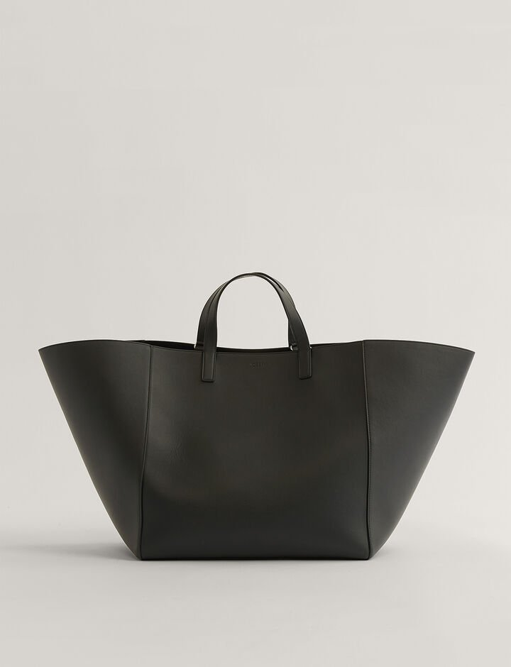 Joseph, Tote Tote Bag, in Black