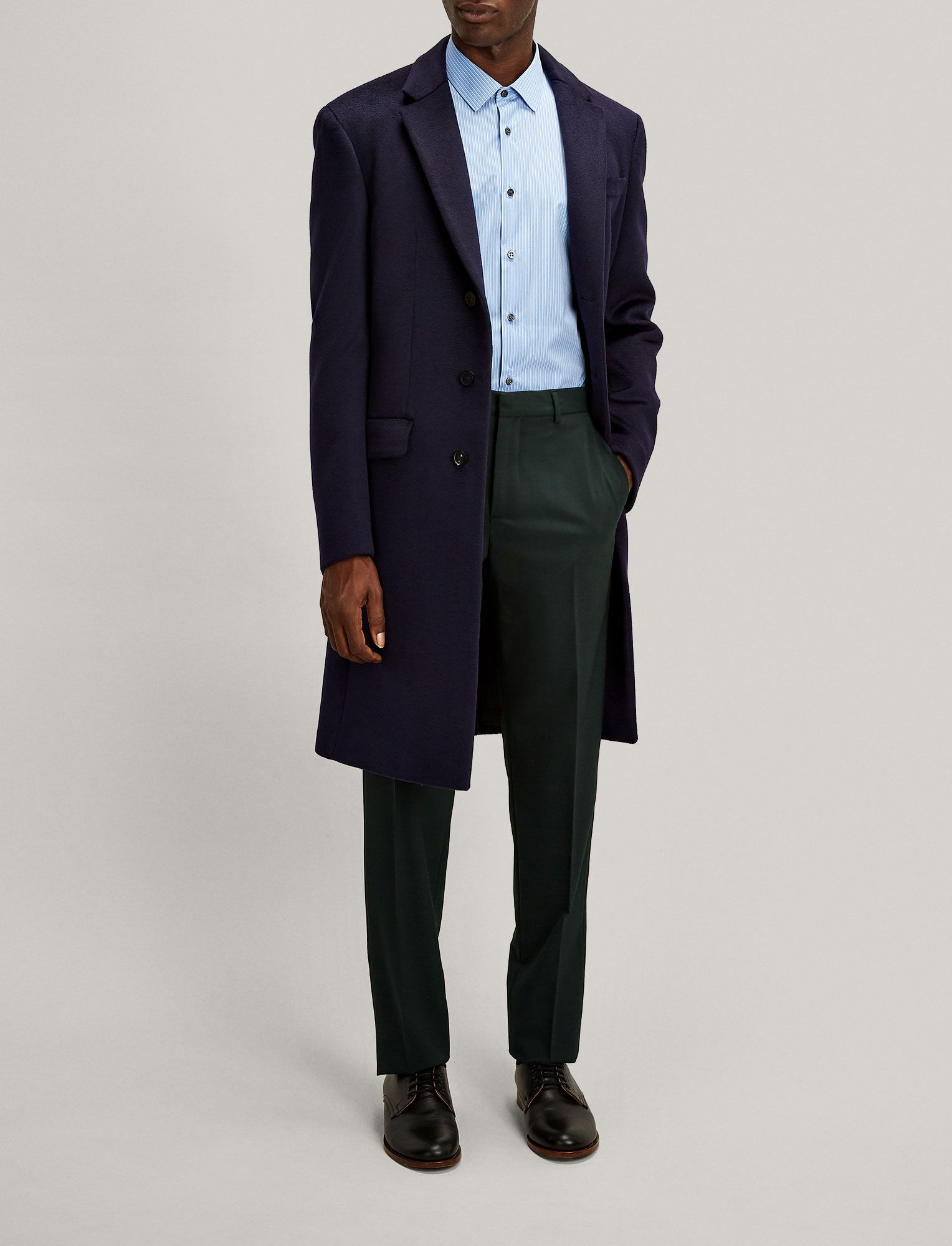Joseph, Jack Techno Wool Stretch Trousers, in BERMUDA