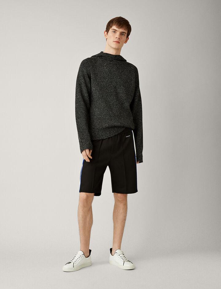 Joseph, Sprint Jersey Track Shorts, in BLACK