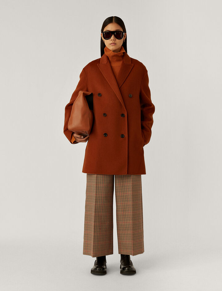 Joseph, Clavel Dbl Face Cashmere Coats, in Fox