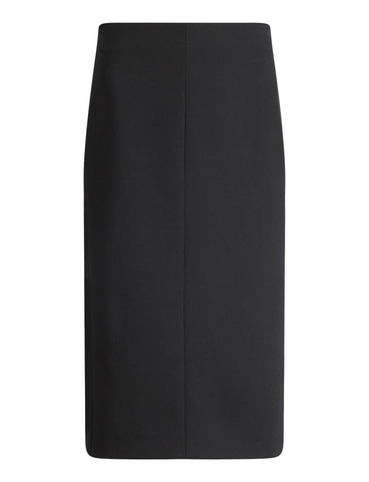 Joseph, Rick Comfort Wool Skirt, in BLACK